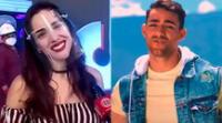 """Austin Palao aseguró que actualmente solo tiene una amistad con Rosángela Espinoza, pero que no quiere """"escupir al cielo"""" al negar un futuro romance."""