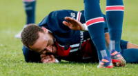 Neymar cerró el año con una nueva lesión.