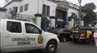 Cuerpo del fallecido fue llevado a la Morgue de Lima.
