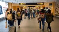Gobierno suspende vuelos directos o con escala en el Reino Unido