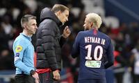 Neymar y Thomas Tuchel no tuvieron una  buena relación.