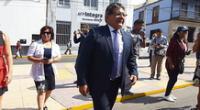 Luis Infantas permanecerá en prisión preventiva en los próximos 15 meses.