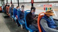 El MTC anunció que continuarán repartiendo protectores faciales por 45 días más en Lima y Callao.