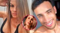 Alejandra Baigorria y Said Palao viajaron a Miami y coinciden con Macarena Vélez