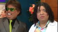 El wasap de JB presentó divertida parodia de Luis Miguel junto a la 'Carlota'