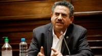 Manuel Merino afronta una investigación de la Fiscalía por los actos de violencia durante su gobierno de facto.