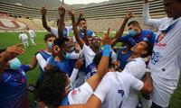 Alianza Atlético agradece a Dios por el logro obtenido en el Monumental.