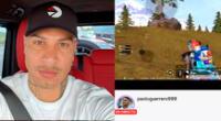 Paolo Guerrero es un amante de los juegos en red.