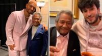 Maluma y Sebastián Yatra comparten sentimental mensaje de despedida para Armando Manzanero