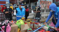 El INSN San Borja exhorta evitar comprar pirotécnicos