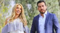 Sofía Franco y Álvaro Paz de la Barra se reconciliaron y reciben el 2021 en familia.