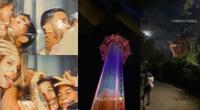 Los chicos reality acudieron en parejas al Busch Gardens Tampa Bay, en Florida, y disfrutaron de diversas atracciones antes de recibir el Año Nuevo.