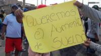 Las protestas en Virú, La Libertad, continúan. Ante esto, el Ejecutivo anunció nuevas medidas.