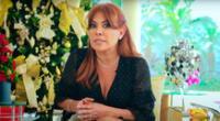 Magaly Medina descontenta por tener que pasar cuarentena tras su retorno al Perú.