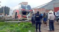 Accidente en Cusco.