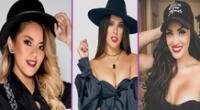 Las cantantes peruanas Michelle Soifer, Yahaira Plasencia y Amy Gutiérrez cantaron recibiendo el Año Nuevo.