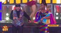 """Yo Soy: Imitadores de Celia Cruz y Juan Luis Guerra sorprenden al jurado al ritmo de """"Quimbara"""""""