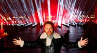 David Guetta ofreció concierto benéfico en Año Nuevo.