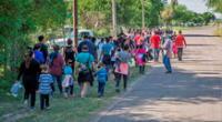 En imágenes, deportados de Estados Unidos.