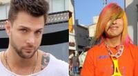 El ex chico reality Nicola Porcella imitó al Faraón Love Shady.