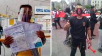 Edgar Laulate Moreno de 29 años necesita cuanto antes 10 unidades de sangre para su segunda operación.