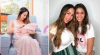 Melissa Loza disfruta de cada momento junto a sus hijas.