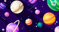 ¿Puedes diferenciar las canicas entre los planetas?