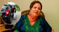 Rosario Sasieta es intervenida tras atropellar a mujer.