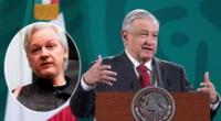 México ofrece asilo político a Julian Assange | Foto: EFE/composición