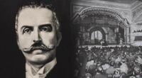 Manuel González Prada autor del famoso discurso leído en el Teatro Politeama.