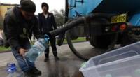 El servicio de agua potable será restringido en La Victoria y Chorrillos.