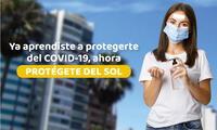 Peruanos que aprendieron a protegerse del COVID-19, ahora deben protegerse de los peligros de los rayos UV.