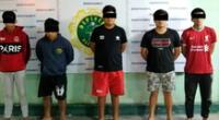 Sujetos fueron detenidos tras un seguimiento al GPS de un celular que le robaron a uno de los trabajadores.