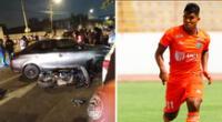 El futbolista Raziel García Paredes atropelló a dos personas en Chorrillos.