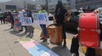 Se realizó un plantón en el Poder Judicial de Lima Norte para exigir justicia por Estefany Flores