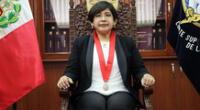 La jueza superior, Carmen María López Vásquez asumió a la presidencia de la Corte de Lima