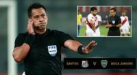 Julio Bascuñán estará en la semifinal de vuelta de la Copa Libertadores | Foto: AFP/composición