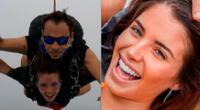 Flavia Laos invita a todos sus seguidores a saltar en paracaídas una vez en su vida.