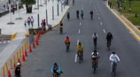 'Domingo sin autos' se mantendrá y que la restricción de autos en esta vía, desde san Miguel hasta Chorrillos, será desde 5 de la mañana hasta las 12:30 de la tarde para la recreación de las personas.