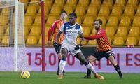 Benevento con Lapadula volvió a tener una traspié.