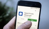 La aplicación fue creada por Signal Foundation en el 2014.
