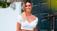 Angie Arizaga confirmó a fin del año pasado su relación con el modelo y cantante Jota Benz.