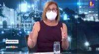 La conductora de Punto final afirmó que esta decisión es parte del nuevo protocolo de su canal, Latina, para evitar el contagio de COVID-19.