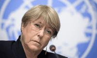 La oficina del Alto Comisionado en DD.HH. que lidera la expresidenta Michelle Bachelet emitió un informe sobre las protestas en Lima.