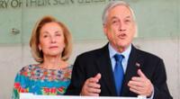 """Sebastián Piñera y su esposa se aíslan preventivamente tras """"contacto estrecho"""" con infectado"""