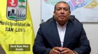Ana Cristina Roque, pareja del alcalde de San Luis, ganaba S/ 1700 mensual por trabajar como secretaria del Área de Gestión Ambiental.
