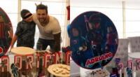 El pequeño Adriano cumplió 9 años y su padre Nicola Porcella se mostró muy emocionado en sus redes sociales.