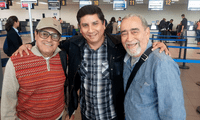 Acompañado por Ismael Rivera y Andy Montañez.