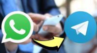 """Pável Dúrov destacó la reciente aceleración de """"la ya masiva afluencia de nuevos usuarios a Telegram""""."""