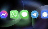 Descubre qué datos recopilan la aplicaciones de mensajería más conocidas.